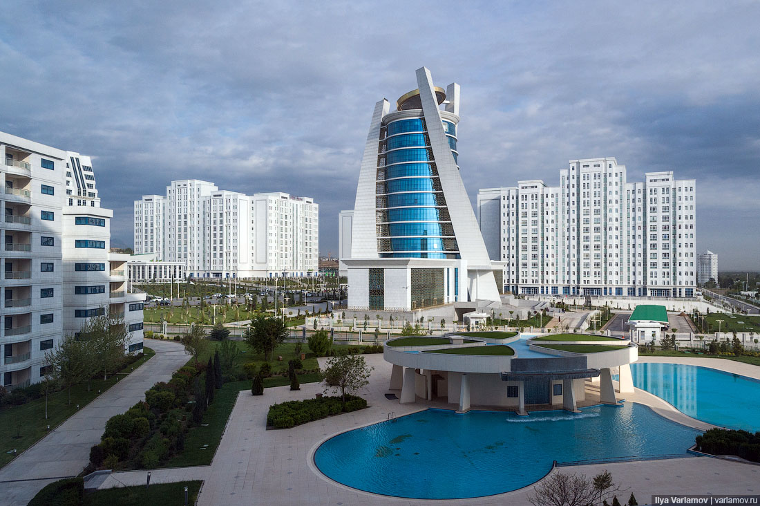 Ashgabat the city of the living and the city of the dead for Appart hotel wiki